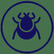 ícone controle de pragas de dedetizadora