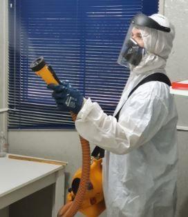 Sanitização de dedetizadora em Caieiras