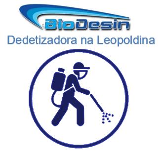 Dedetizadora na Leopoldina